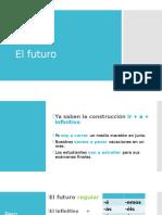 spanish 3 el futuro el futuro