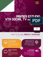 TV Redes Sociales y Dispositivos Móviles en Chile ( Estudio VTR )