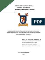 Tesis Juan Carlos Arce Pino Mallas de Extraccion
