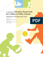 physical education framework