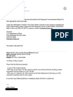 Feb 26 to April 6 FOIA Email Exchange