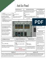 Anti Ice Panel - Cheat Sheet