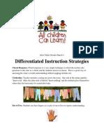 differentiatedinstructionstrategieskit