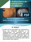 Manejo Endoscópico de Complicaciones Pancreáticas