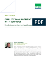 Quality Management With ISO 9001