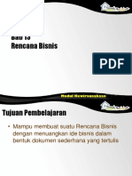 Bab 13 Rencana Bisnis