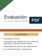 1) talleradfsavcfde de items oct 2015 - generalidades de evaluación.pdf