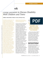 using literature to discuss disabilities