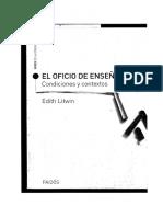 El oficio de enseñar .Edit Litwin.pdf