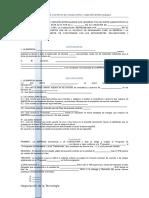 Formato de Contrato de Consultoría y Asesoría Especializada