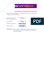 Calculo Renta Imponible TCP