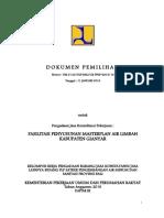 Dokumen Pemilihan Masterplan Al Gianyar