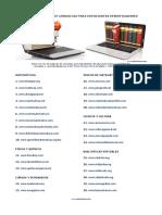 Treinta Páginas de Consultas Para Estudiantes Investigadores
