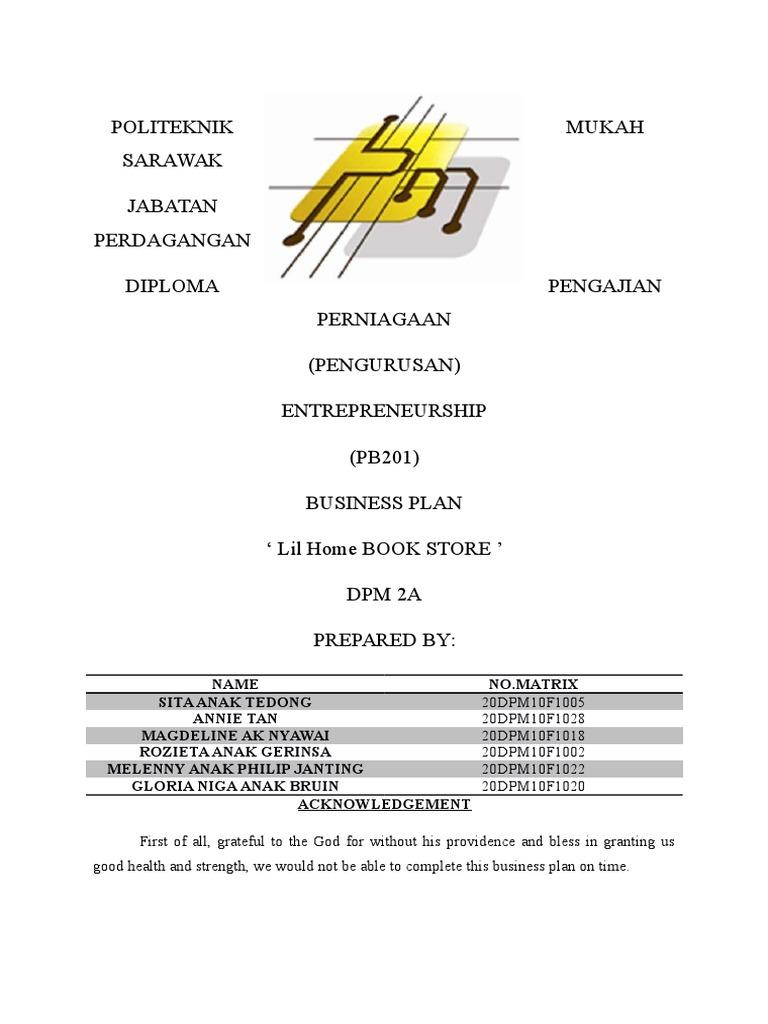 pb201 business plan
