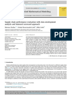 Supply Chain Performance Evaluation With Data Envelopment Analysis and Balanced Scorecard Approach