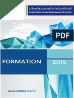 Brochure de Formation du CETIME 2015
