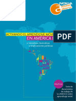 Activando El Aprendizaje Móvil en America Latina