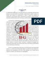 Capitulo I Libro Matematica Financiera 2016-I