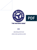Aerator & Fountain Application Manual