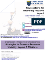 New Systems for Measuring Research Impact