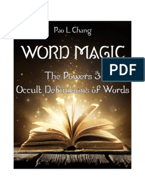 word-magic-the-powers-occult-definitions-of-words-preview-ot1 pdf