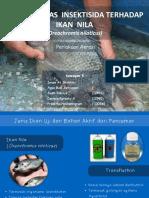 Uji Toksisitas Insektisida Terhadap Ikan Nila