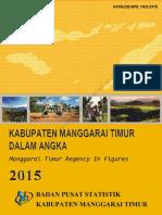 Manggarai Timur Dalam Angka Tahun 2015