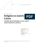 PEW RESEARCH CENTER Religion in Latin America Overview SPANISH TRANSLATION for Publication 11-12-1