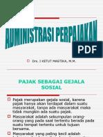 Administrasi Perpajakan
