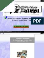 Bases Tecnicas Aiepi- 2014 El Salvador