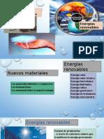 Energía Renovable y Nvo Materiales