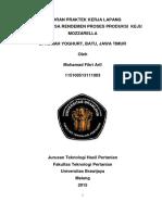 Laporan Praktek Kerja Lapang (Full)