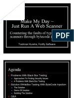 Make My Day – Just Run a Web Scanner