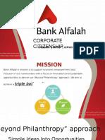 CSR Alfalah Bank