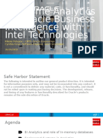 CON10850_Potapov-CON10850-Real-Time Analytics for Oracle Business Intelligence With Intel Technologies