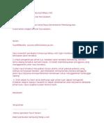 Contoh Surat Jkr 2