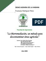 BIOREMEDACION UN METODO PARA DESCONTAMINAR AREAS AGRICOLAS.pdf