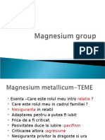 magnezium grup lucrare