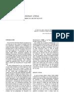 La Ciudad Lineal-libro