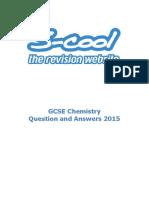 Chemistry GCSE QA