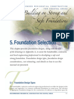 Foundation Choice in Coastal Area