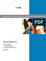 Hardware & Software Specifications Guide