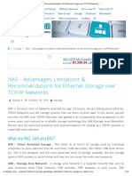 NAS – Advantages, Limitations & Recommendations for Ethernet Storage Over TCP_IP Networks – ExcITingIP