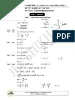 Xii Class Jee Shikhar Solution 20-12-2015