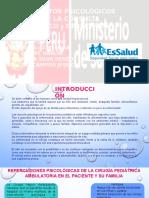 Procesos psicologicos en el paciente pediatrico