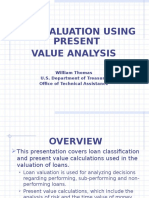 Loan Valuation Using Present Value Analysis - FDIC