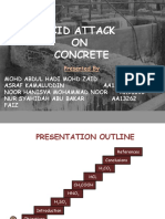 acid attack on concrete