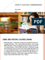 DBM 380 AID Expect Success Bbm380aiddotcom