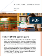 ECO 204 ASSIST Expect Success Eco204assistdotcom