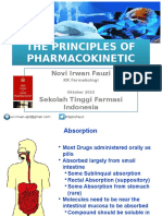 The Principle of Pharmacokinetic